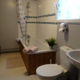 Salle de bain - Location de vacances - Donnay