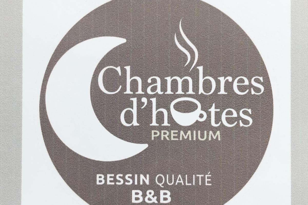 Votre chambre d'hôtes Pomme Cannelle est classée PREMIUM. Un prix tout compris, petit-déjeuner inclus. Belle prestation dans un cadre champêtre à seulement 3 kms de Bayeux. - Chambre d'hôtes - Monceaux-en-Bessin