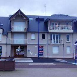 Façade immeuble - Location de vacances - Langrune-sur-Mer