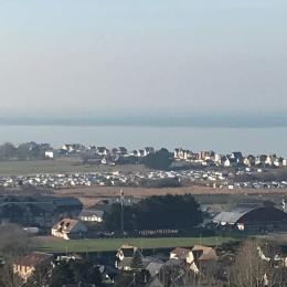 Vue de la terrasse. - Location de vacances - Blonville-sur-Mer