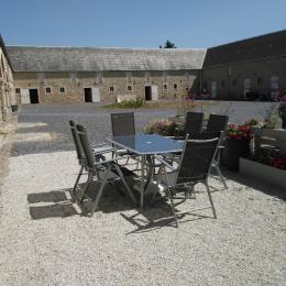 coin terrasse - Location de vacances - Formigny La Bataille