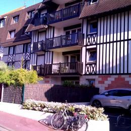 Façade de la résidence - Location de vacances - Blonville-sur-Mer