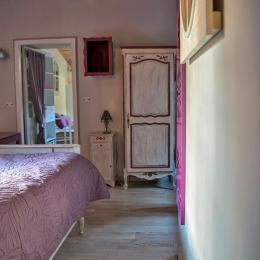 chambre_violette_2 - Location de vacances - Pierrefitte-en-Auge