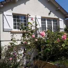 Maison cabourg vue de face - Location de vacances - Cabourg