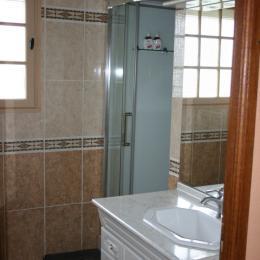Salle de bain 1 - Location de vacances - Cabourg