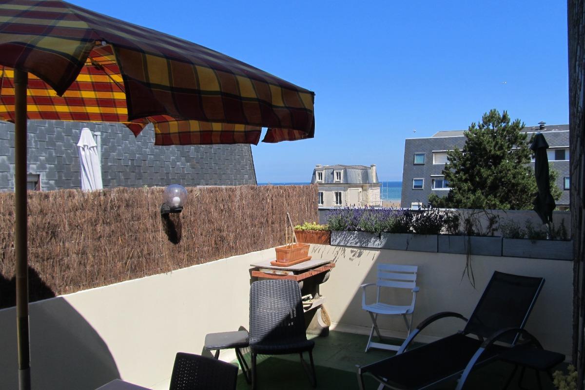 Résidence accès direct mer - Location de vacances - Bernières-sur-Mer