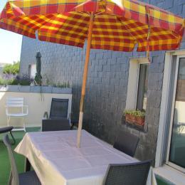 Terrasse 20m2 - Location de vacances - Bernières-sur-Mer