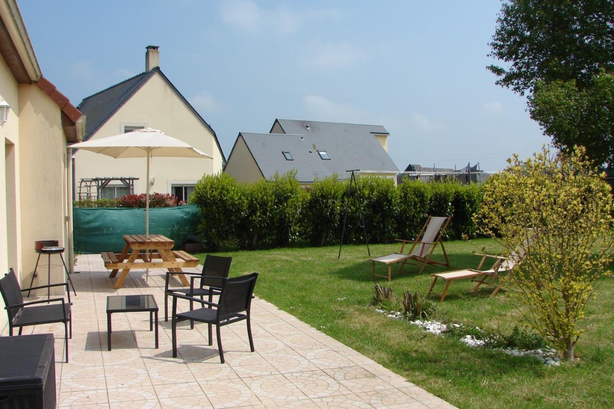 terrasse plein sud - Location de vacances - Bayeux