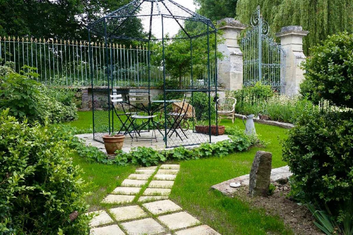 jardin privatif - Location de vacances - Nonant
