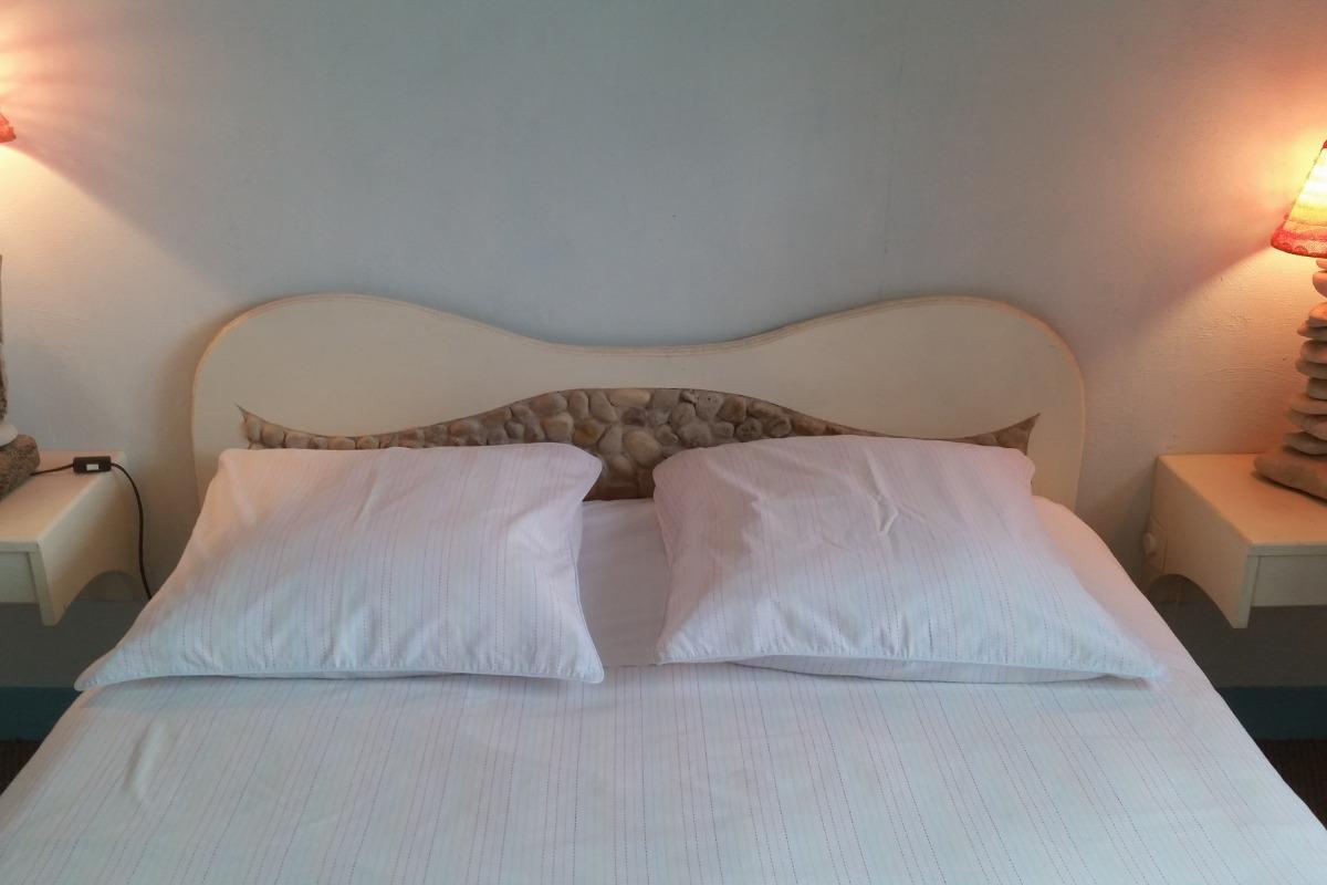lit double - Chambre d'hôtes - Nonant