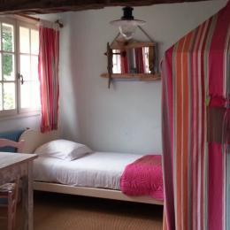 le lit simple - Chambre d'hôtes - Nonant