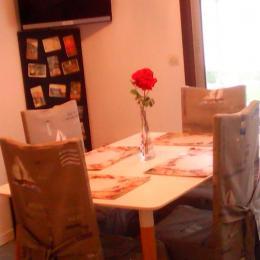 salle à manger - Location de vacances - Villers-sur-Mer
