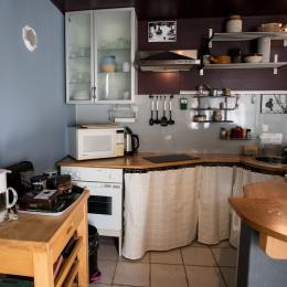 La cuisinette en rez de chaussée - Chambre d'hôtes - Périers-sur-le-Dan