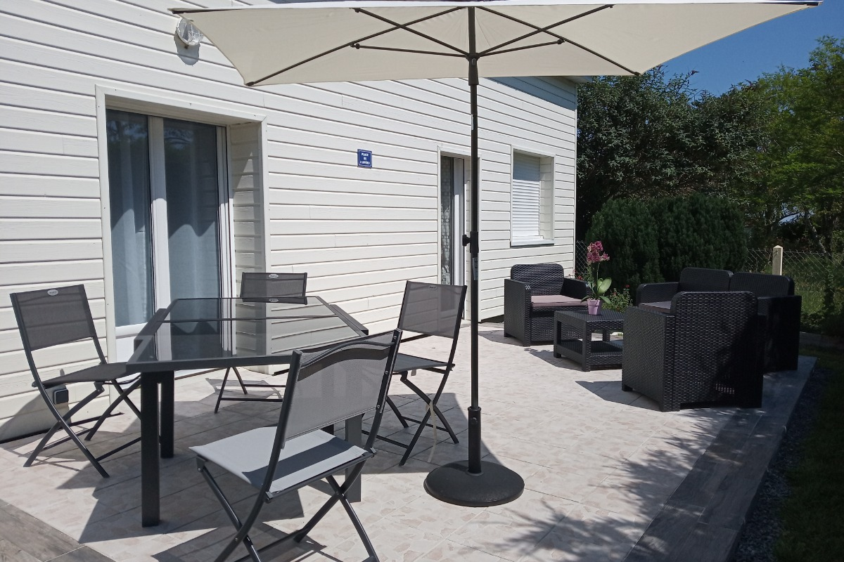 terrasse - Location de vacances - Tracy-sur-Mer