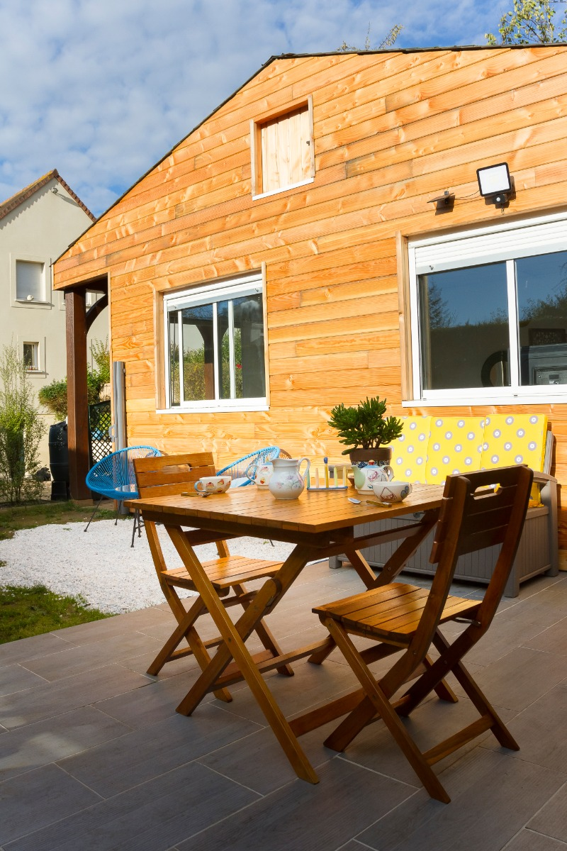 La terrasse. - Location de vacances - Caen