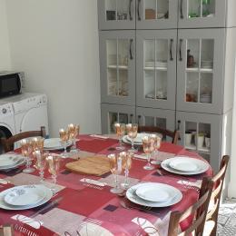 cuisine toute équipée - Location de vacances - Courseulles-sur-Mer