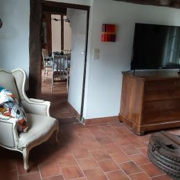 Salon - Location de vacances - Annebault