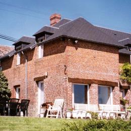 façade - Location de vacances - Léaupartie