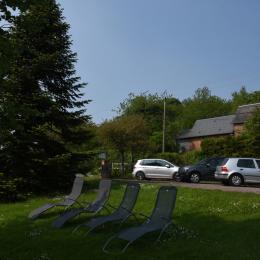 jardin - Location de vacances - Léaupartie