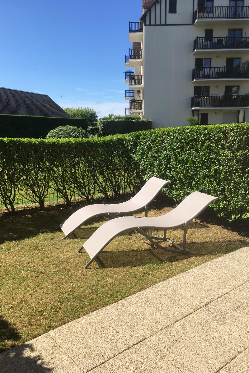 jardin privatif expo ouest - Location de vacances - Cabourg