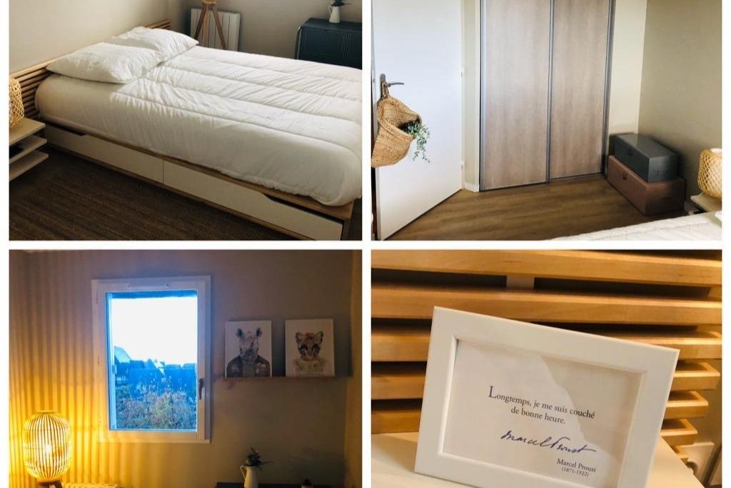 La chambre - Location de vacances - Cabourg
