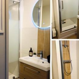 La salle de bain - Location de vacances - Cabourg