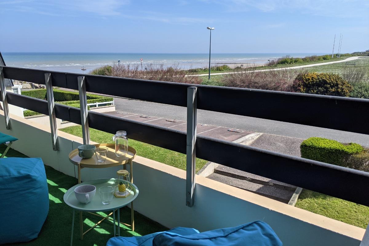 Balcon vue mer - Location de vacances - Bernières-sur-Mer