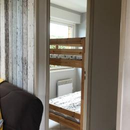 petite chambre avec lit superposé - Location de vacances - Saint-Côme-de-Fresné