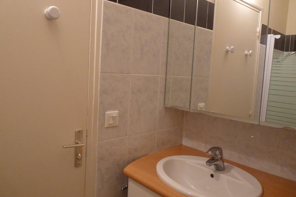 la salle de bain - Chambre d'hôte - Bayeux