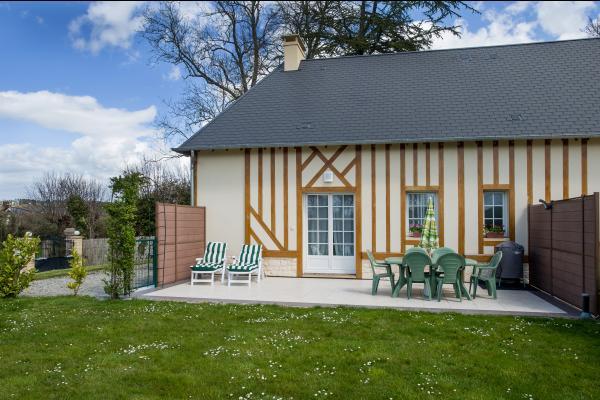 Terrasse et jardin privés - Location de vacances - Vauville