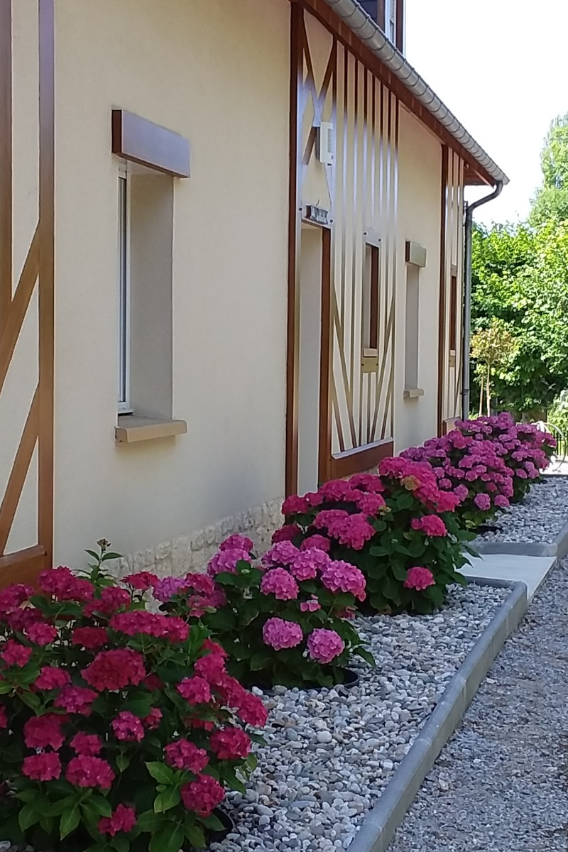 L'entrée du gîte - Location de vacances - Vauville
