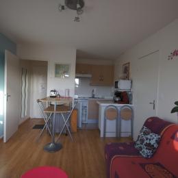 salon cuisine exposition sud ouest location saisonnière villers sur mer - Location de vacances - Villers-sur-Mer