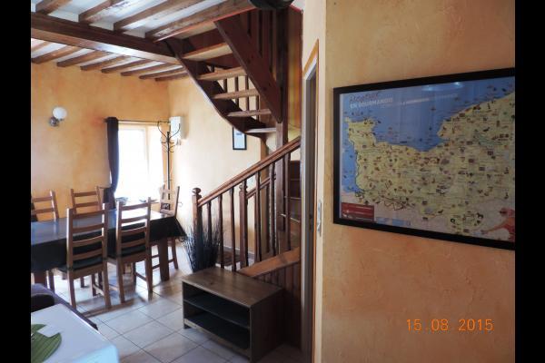 Cuisine Séjour - Location de vacances - Bernières-sur-Mer