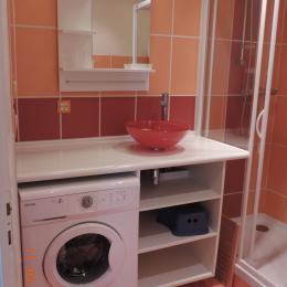 Salle de douche - Location de vacances - Bernières-sur-Mer