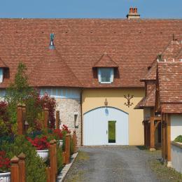 Entrée principale de la Porte Bleue - Location de vacances - Trouville-sur-Mer