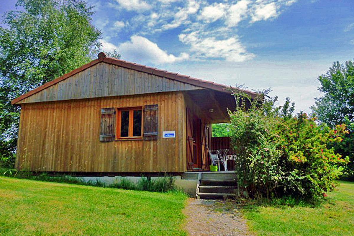 Gite en bois Le Pinson - Location de vacances - Junhac