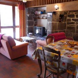 coin cuisine - Location de vacances - Cheylade