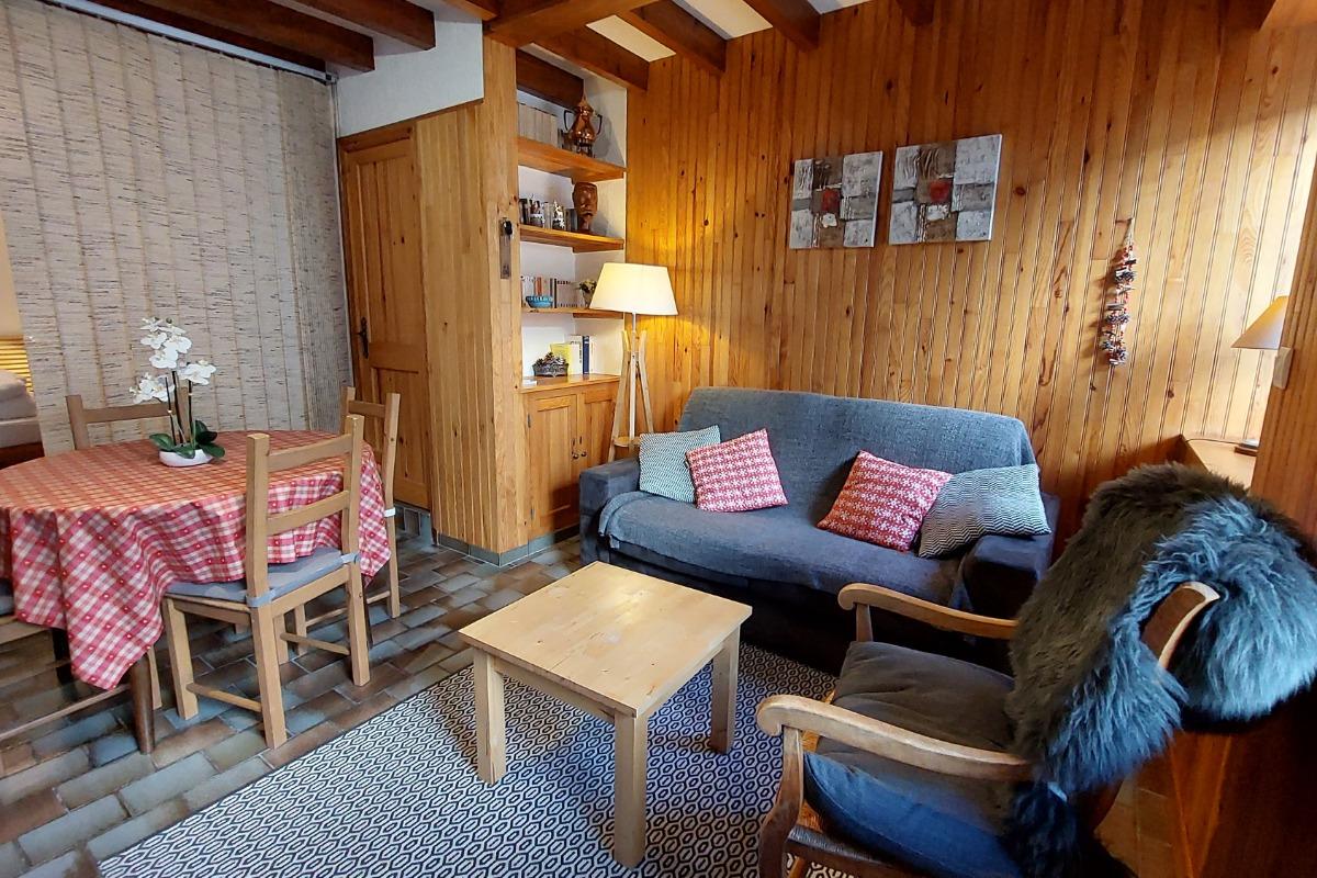 séjour/salon - Location de vacances - Albepierre-Bredons
