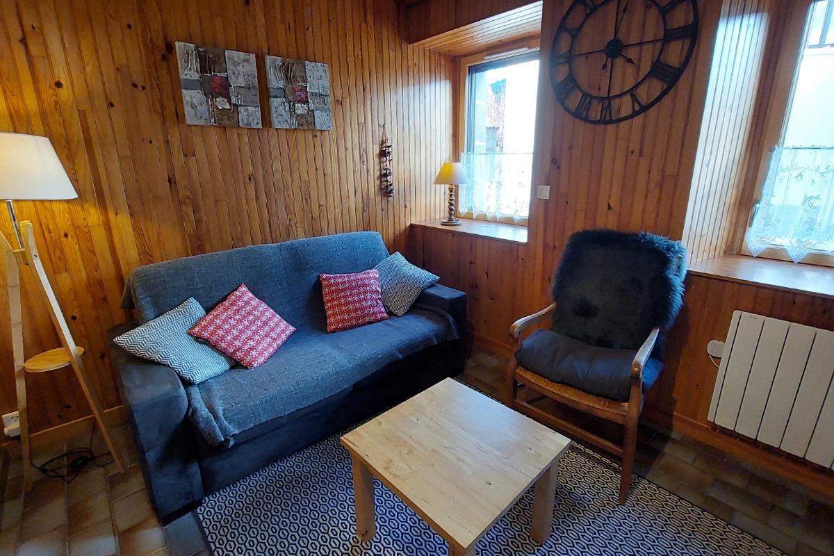 espace chambre - Location de vacances - Albepierre-Bredons