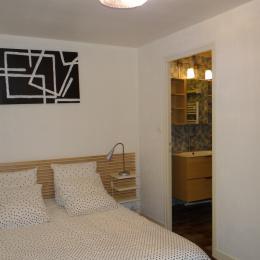 Les Cascades - blancheur d'hiver - Location de vacances - Albepierre-Bredons