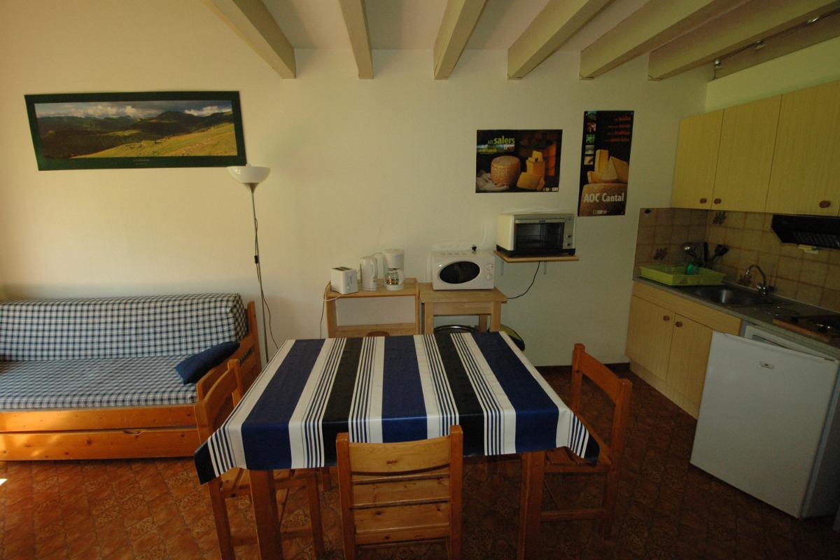 Mezzanine avec sdb - Location de vacances - Saint-Jacques-des-Blats