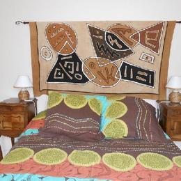 chambre africaine - Location de vacances - Lafeuillade-en-Vézie