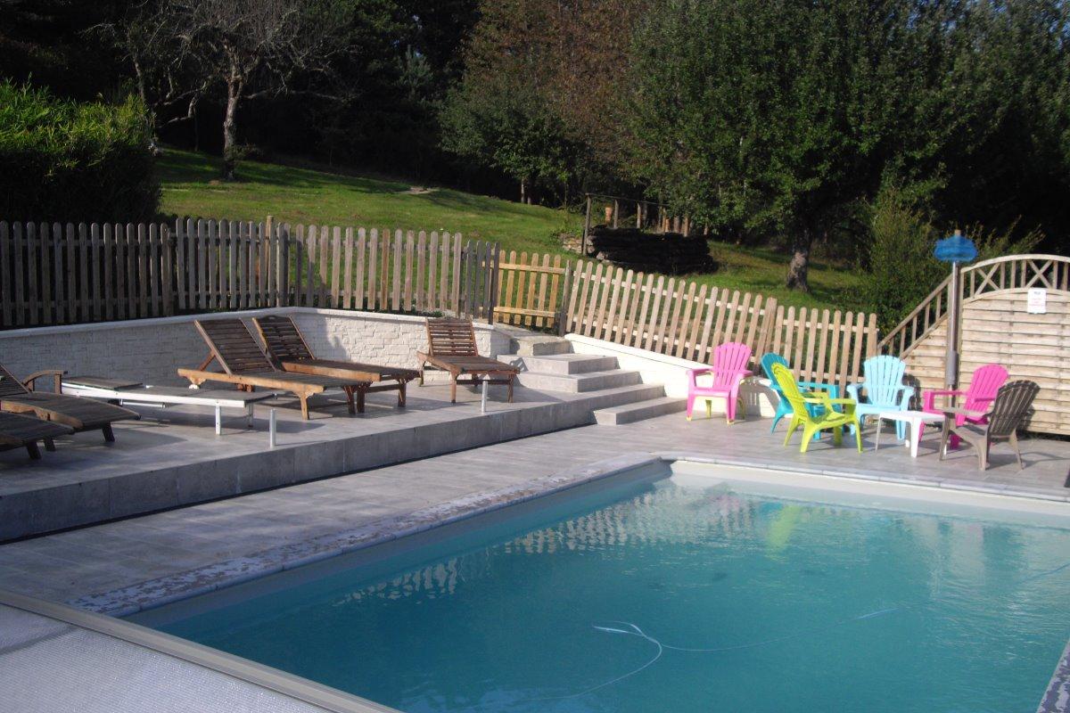 piscine refaite en 2017 - Location de vacances - Jaleyrac