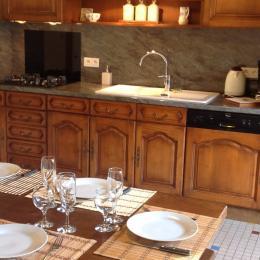 Cuisine - Location de vacances - Albepierre-Bredons
