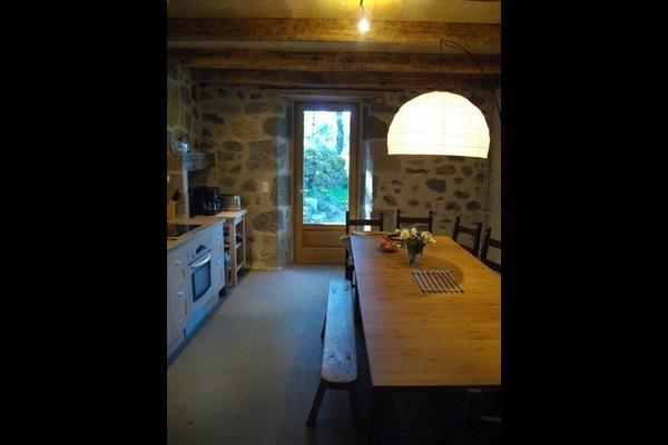 cuisine, salle à manger - Location de vacances - Saint-Clément