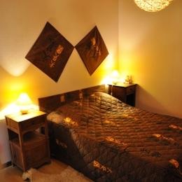 1 ere Chambre 1er etage - Location de vacances - Laveissière