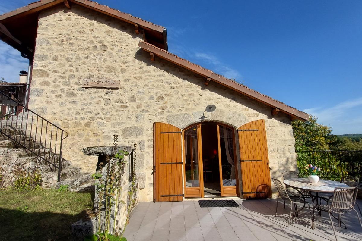 Vue d'ensemble - Location de vacances - Saint-Julien-de-Toursac