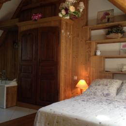 Chambre parentale - Location de vacances - Virargues