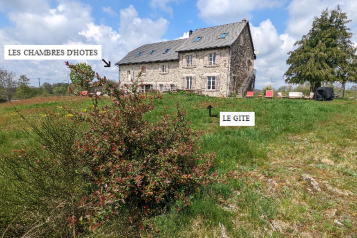 La maison avec vue sur le Massif du Sancy - Location de vacances - Champs-sur-Tarentaine-Marchal