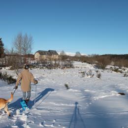 Les Roches d'Artense sous la neige - Location de vacances - Champs-sur-Tarentaine-Marchal